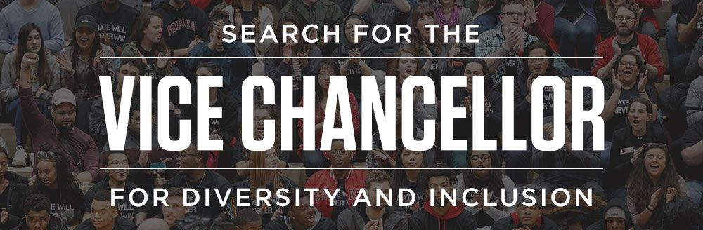 Search for the Vice Chancellor for Diversity and Inclusion